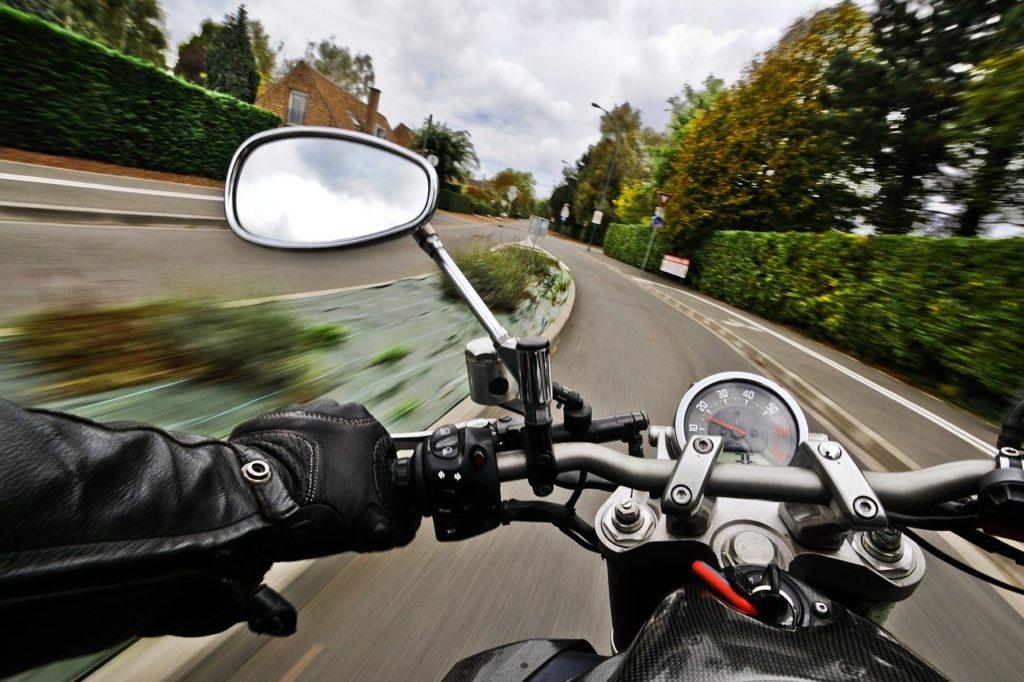 motocykl bezpieczeństwo